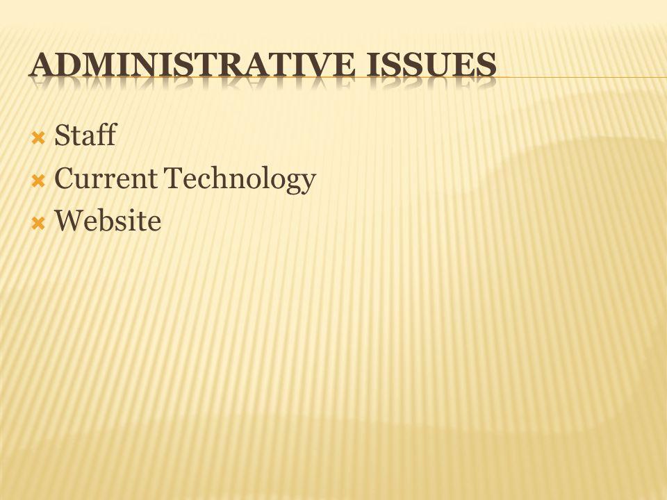Staff Current Technology Website