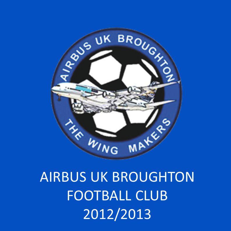 AIRBUS UK BROUGHTON FOOTBALL CLUB 2012/2013