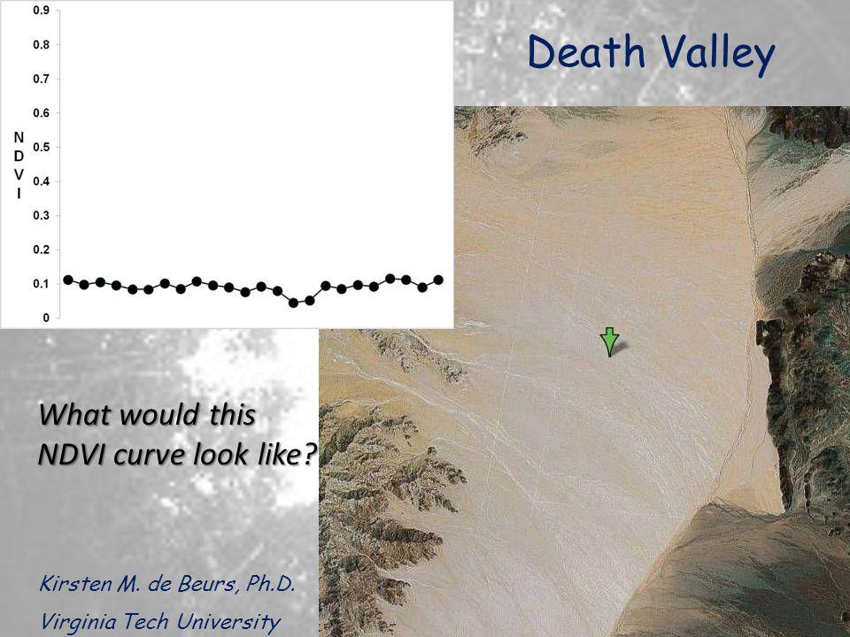 Death Valley Kirsten M.de Beurs, Ph.D.