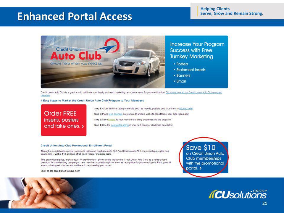Enhanced Portal Access 21
