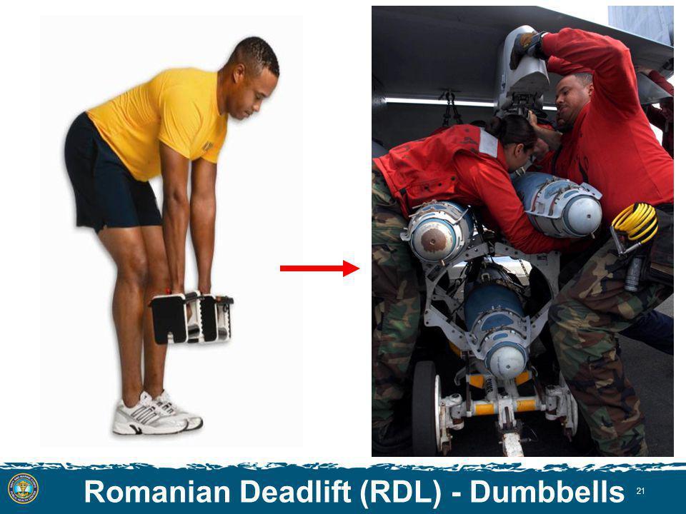 Romanian Deadlift (RDL) - Dumbbells 21