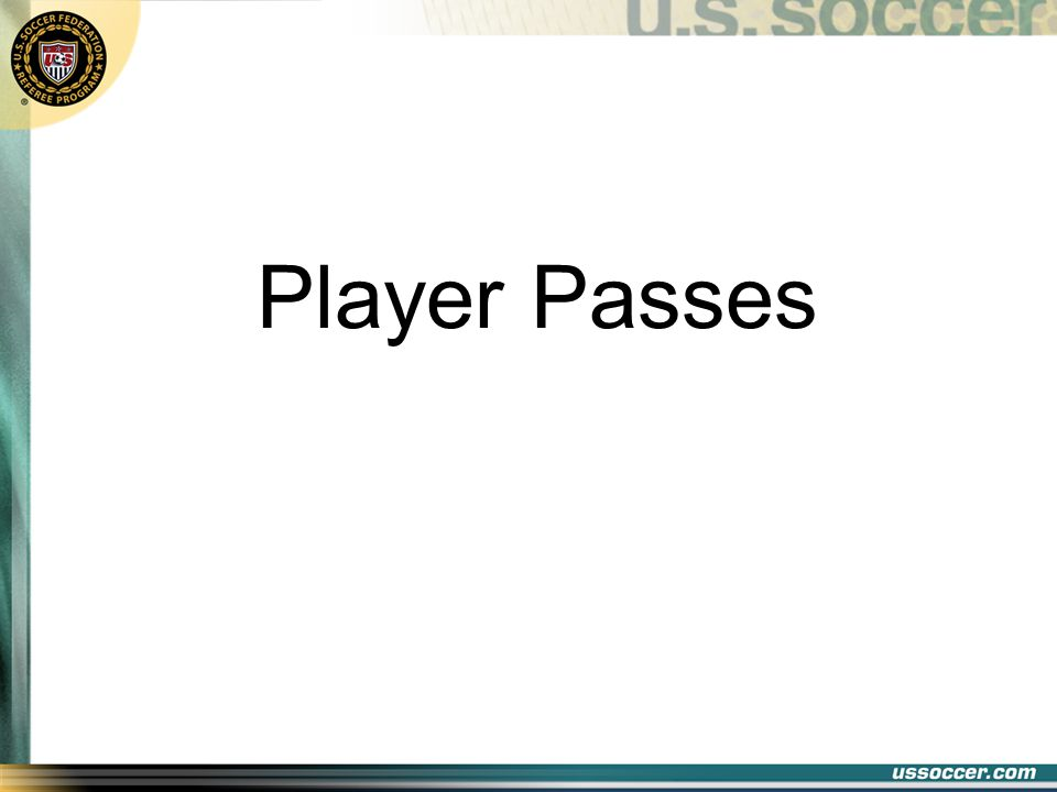 Player Passes