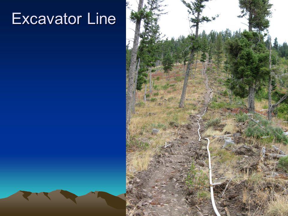 Excavator Line