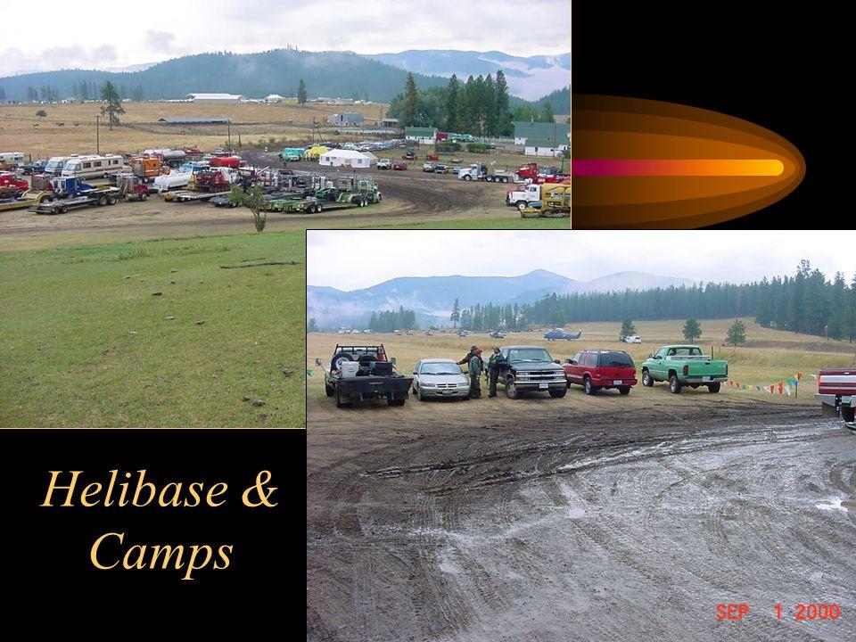 Helibase & Camps