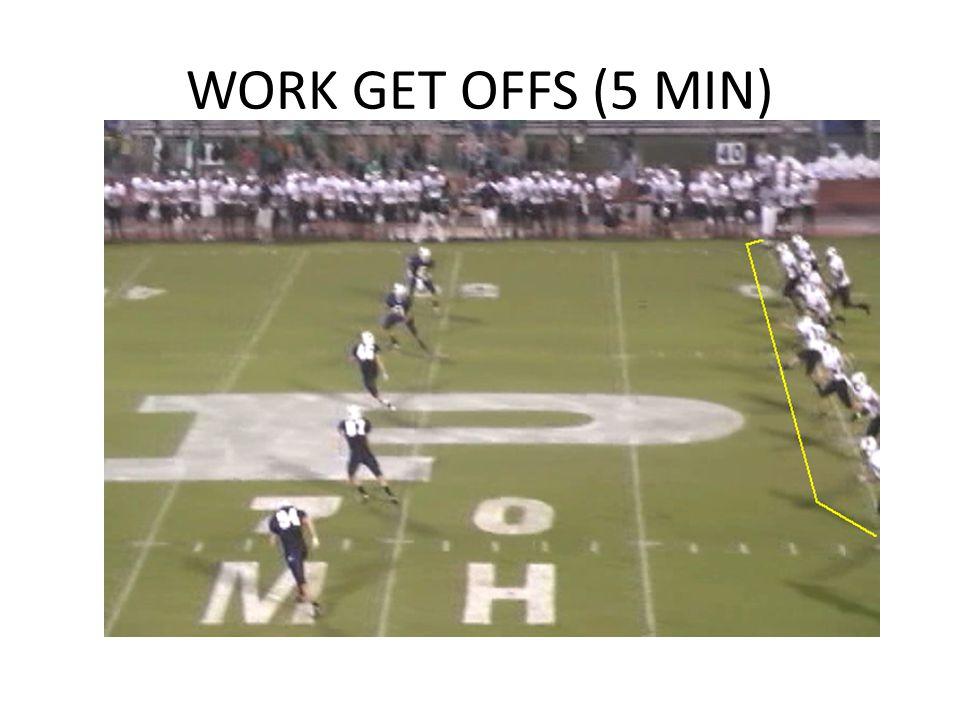 WORK GET OFFS (5 MIN)