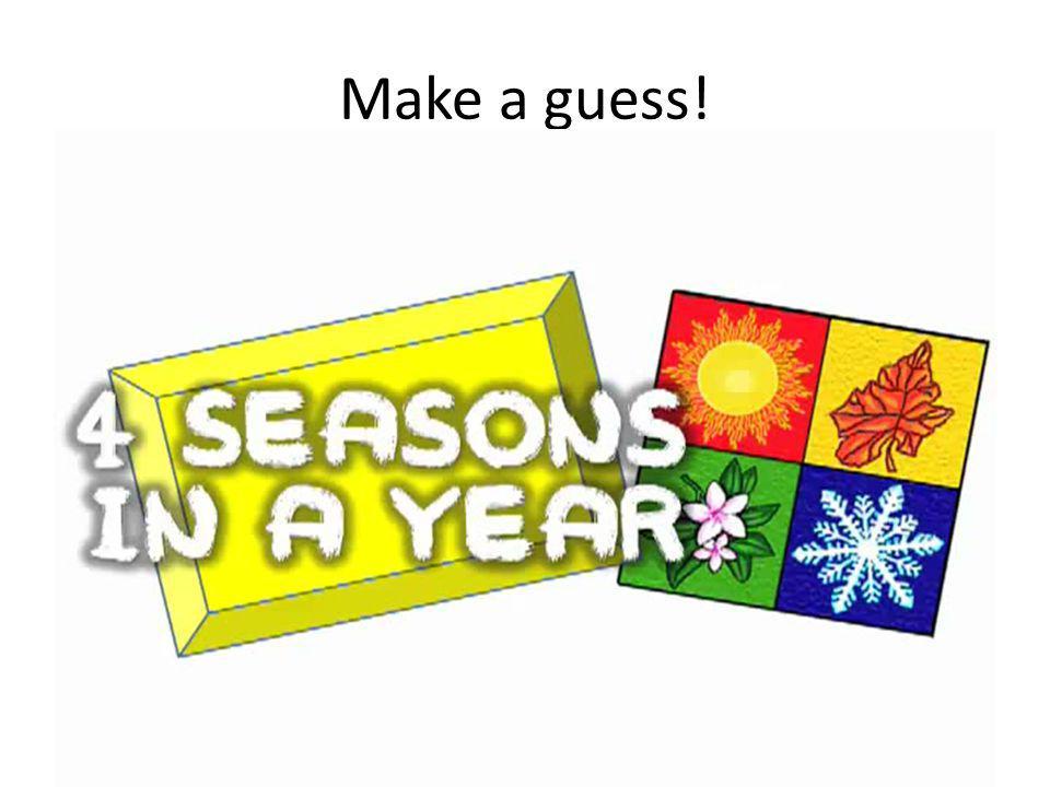 Make a guess!