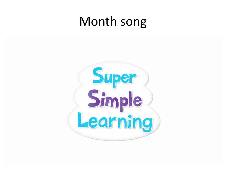 Month song