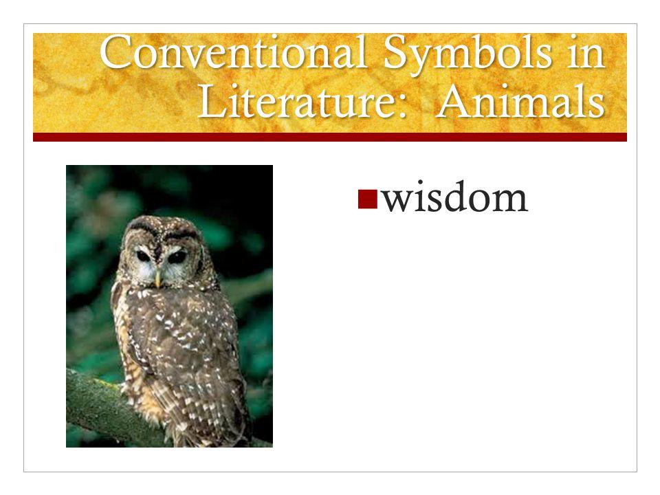 Conventional Symbols in Literature: Animals wisdom