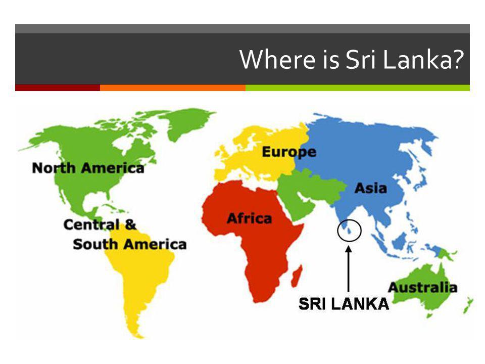 Where is Sri Lanka?