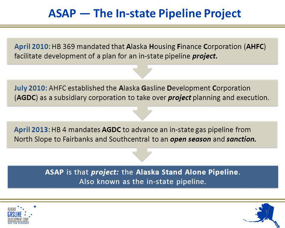 Alaskas Energy Situation North Slope energy rich 30+ Trillion cubic feet of natural gas Cook Inlet Basin in decline Creating uncertainty as early as 2018 Cost of residential heat Fairbanks heating oil ~$30/MMBTU Cook Inlet natural gas $9 - $10/MMBTU 4