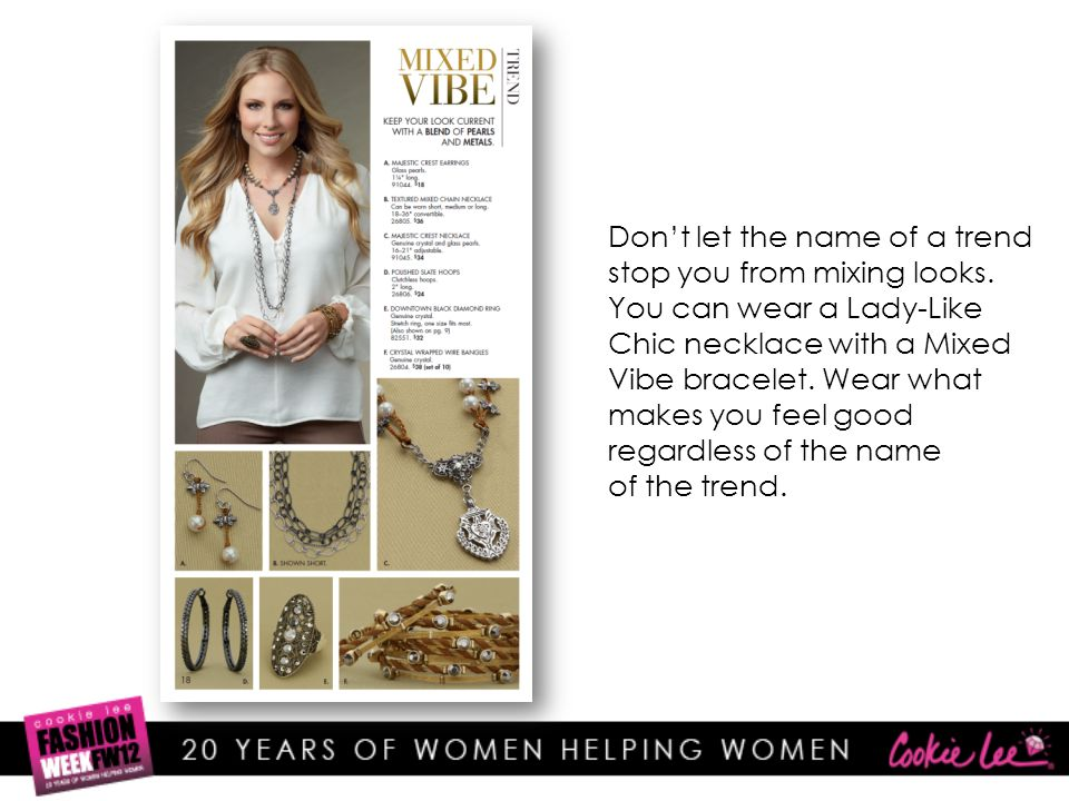 Catalog Facts 14 Rings 43 Bracelets 49 Earrings 80 Necklaces Total of 186 items.