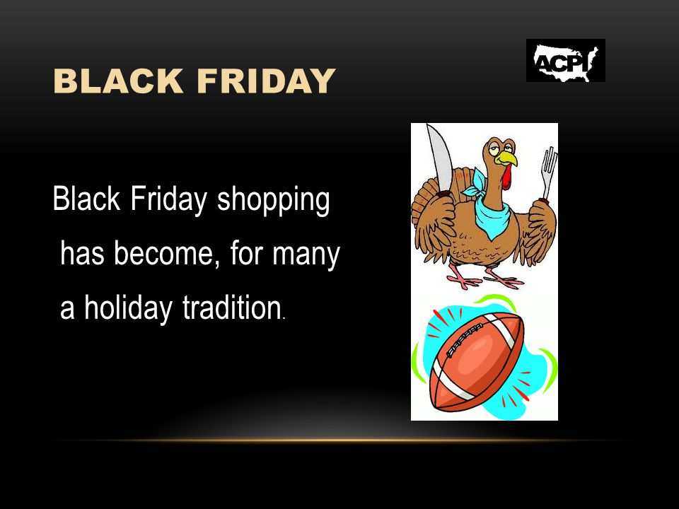 BLACK FRIDAY Diffusing Confrontations Christmas shopping can be a stressful event, and if you factor in Door Buster sales and a mob mentality, aggressive confrontations can and have occurred during Black Friday promotions.