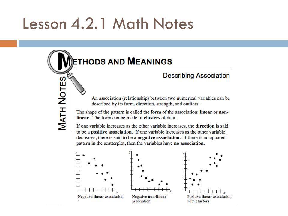 Lesson 4.2.1 Math Notes