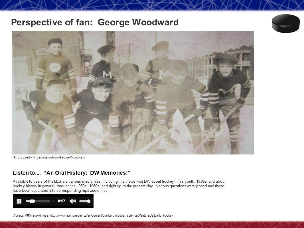 Perspective of fan: George Woodward Photo used with permission from George Woodward Listen to....
