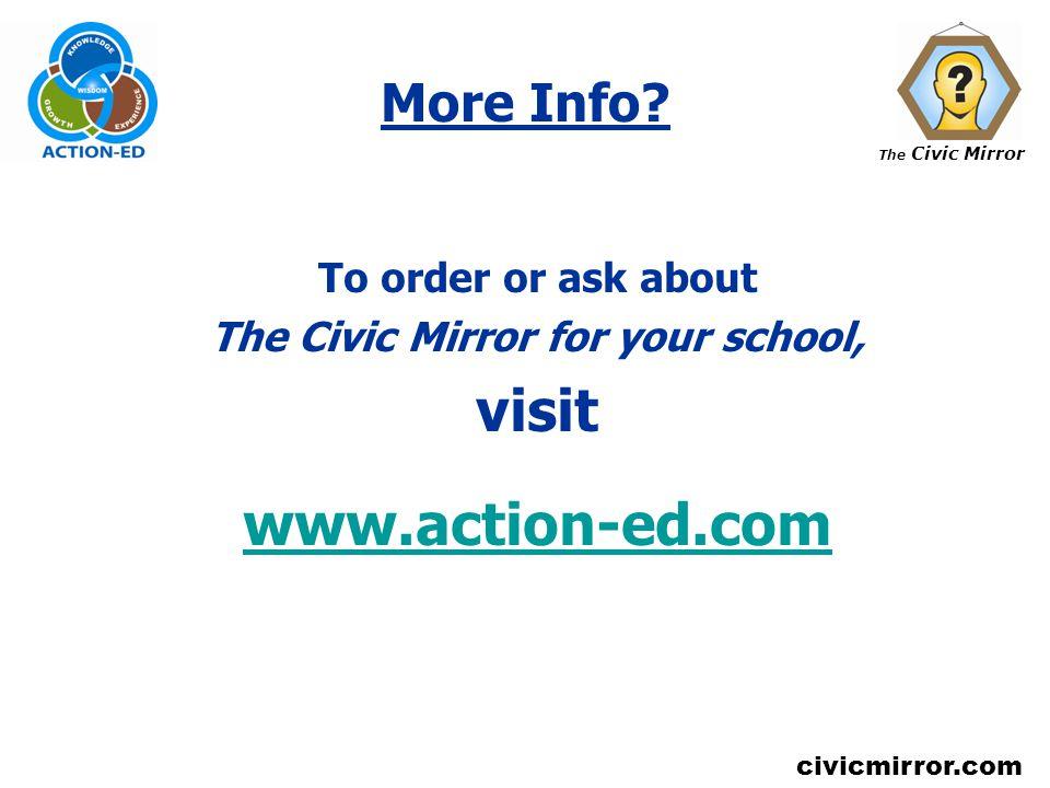 The Civic Mirror civicmirror.com More Info.