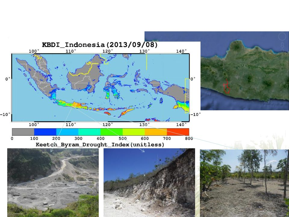 3. Ground survey for drought Yogyakarta, Central Java