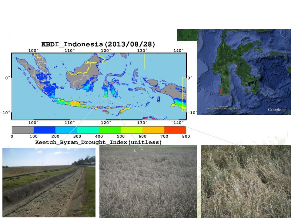 3. Ground survey for drought Makasar, South Sulawesi