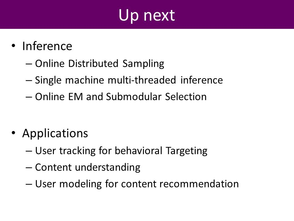 4.3 User Preference Online EM and Submodularity