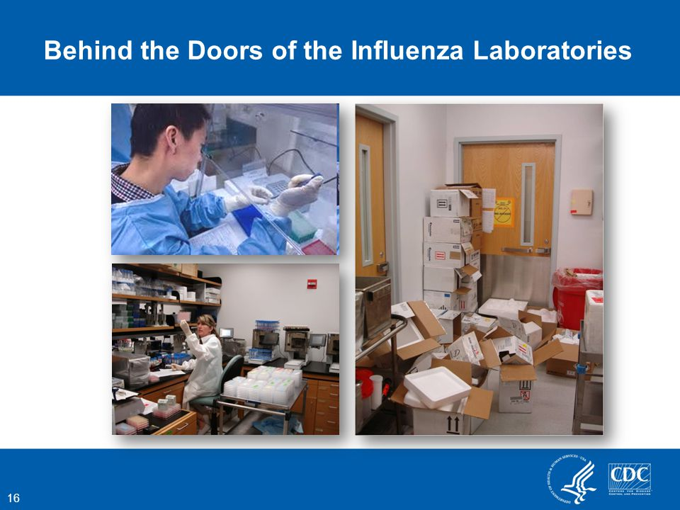 Behind the Doors of the Influenza Laboratories 16