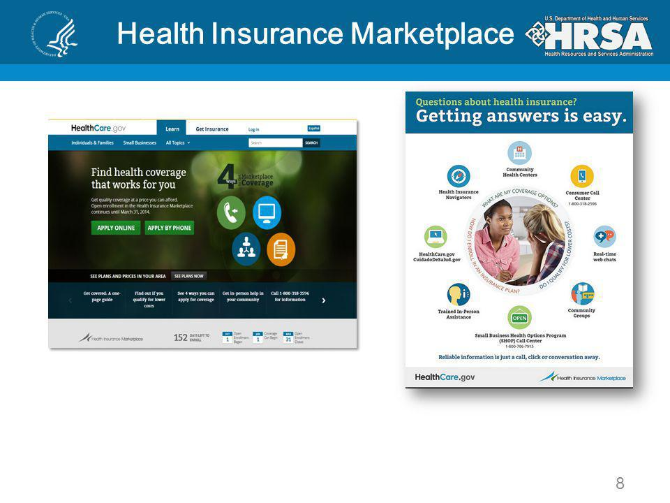 8 Health Insurance Marketplace