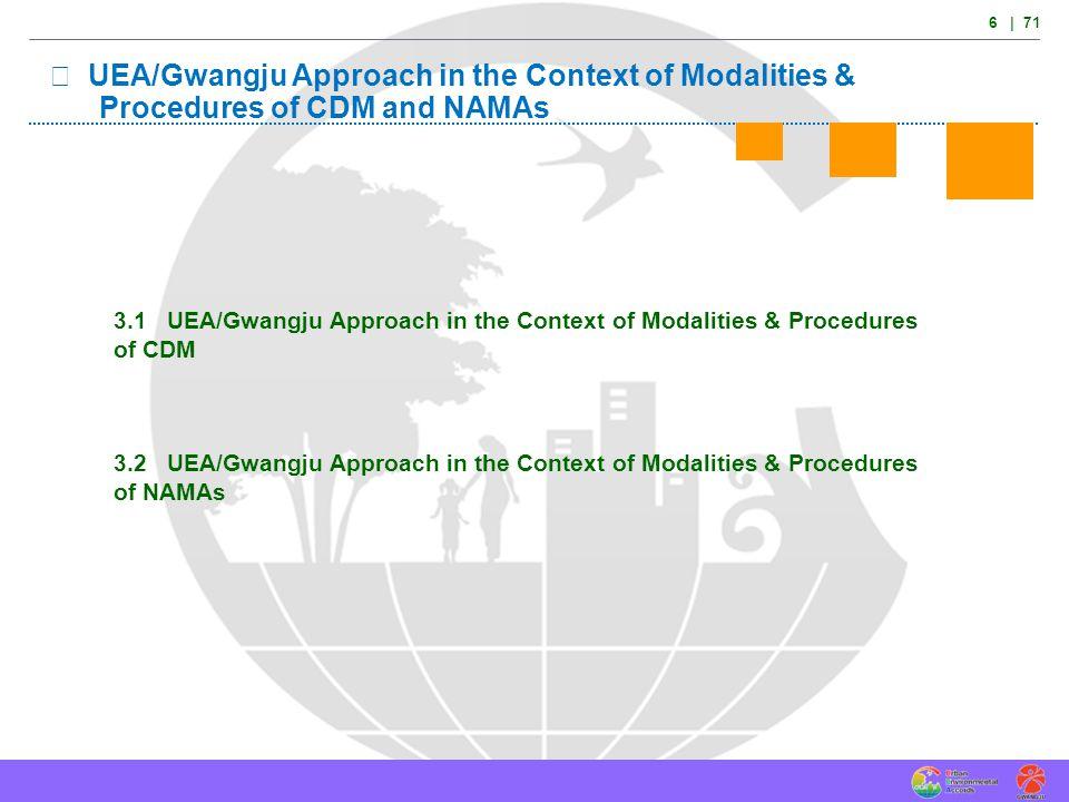 This system was introduced at 2011 UEA Gwangju Summit and 2013 UEA San Antonio Summit.