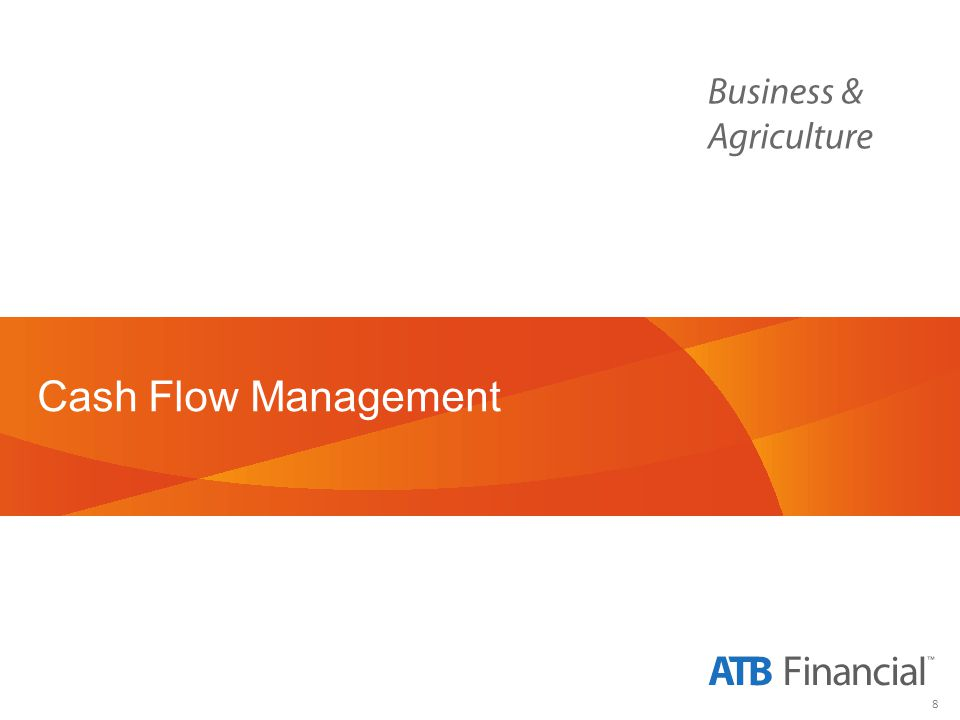 8 Cash Flow Management