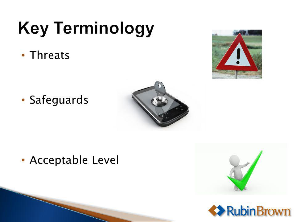 Threats Safeguards Acceptable Level
