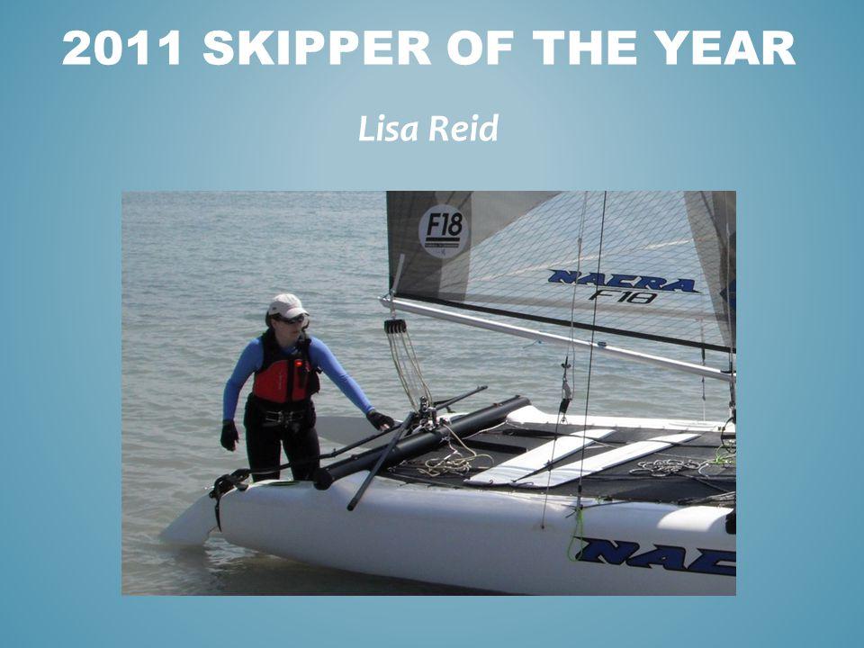 Lisa Reid 2011 SKIPPER OF THE YEAR