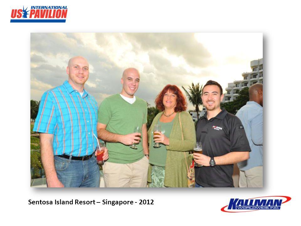 Sentosa Island Resort – Singapore - 2012