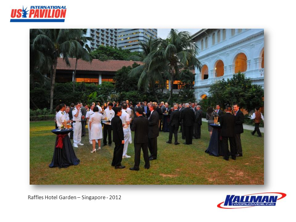 Raffles Hotel Garden – Singapore - 2012