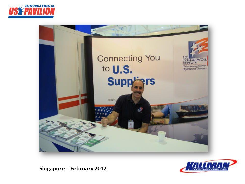 Singapore – February 2012
