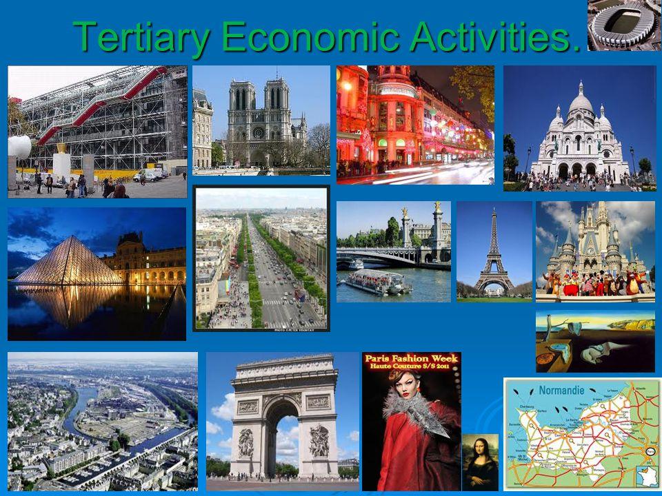 Tertiary Economic Activities.