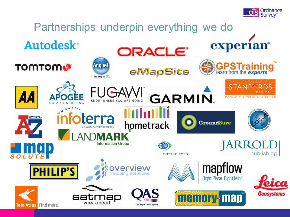 Partnerships underpin everything we do