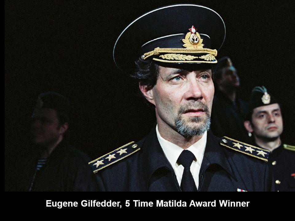 Eugene Gilfedder, 5 Time Matilda Award Winner