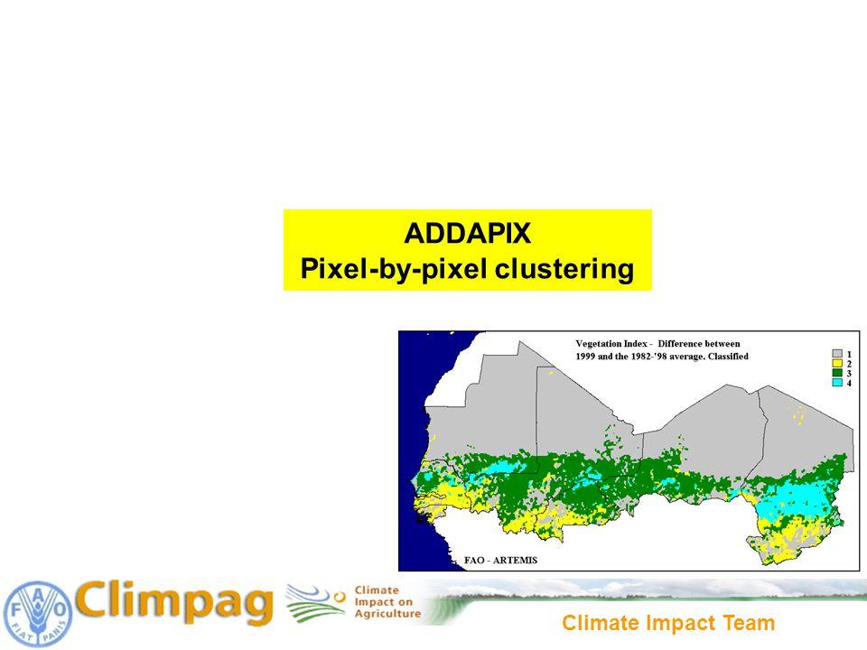 ADDAPIX Pixel-by-pixel clustering