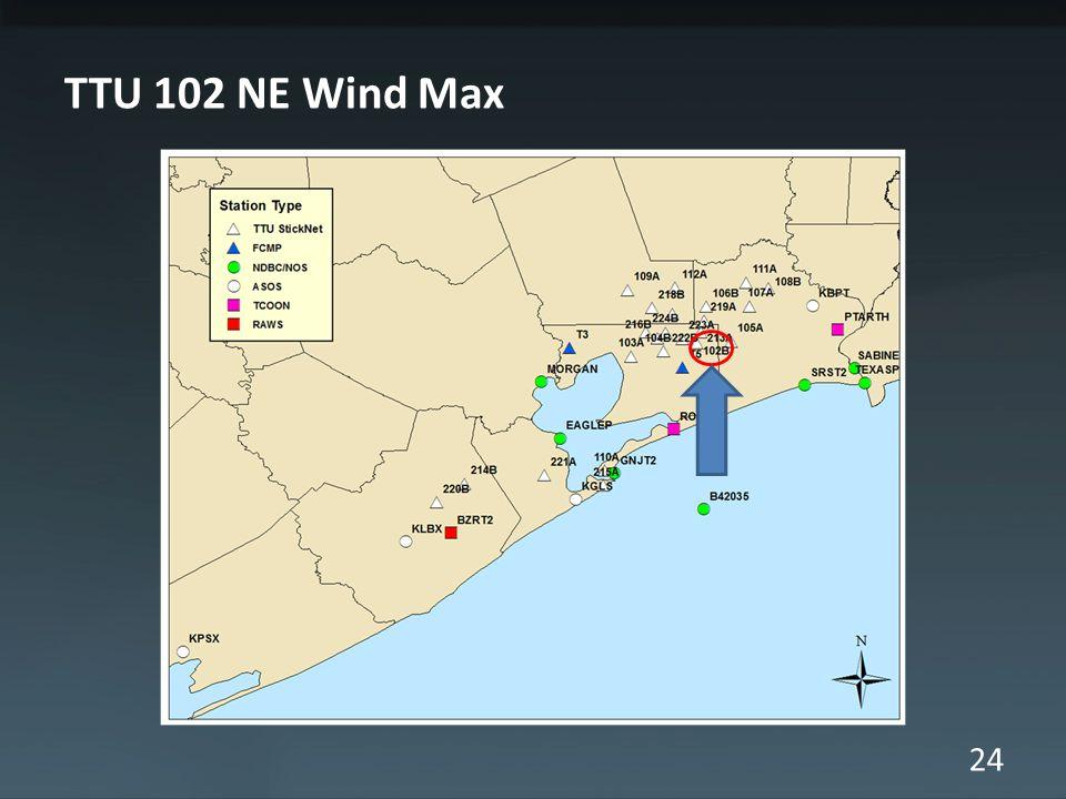24 TTU 102 NE Wind Max