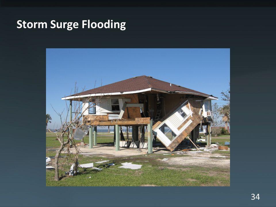 34 Storm Surge Flooding