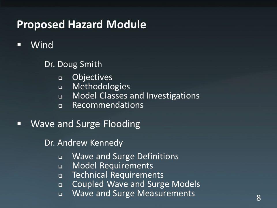 8 Proposed Hazard Module Wind Dr.