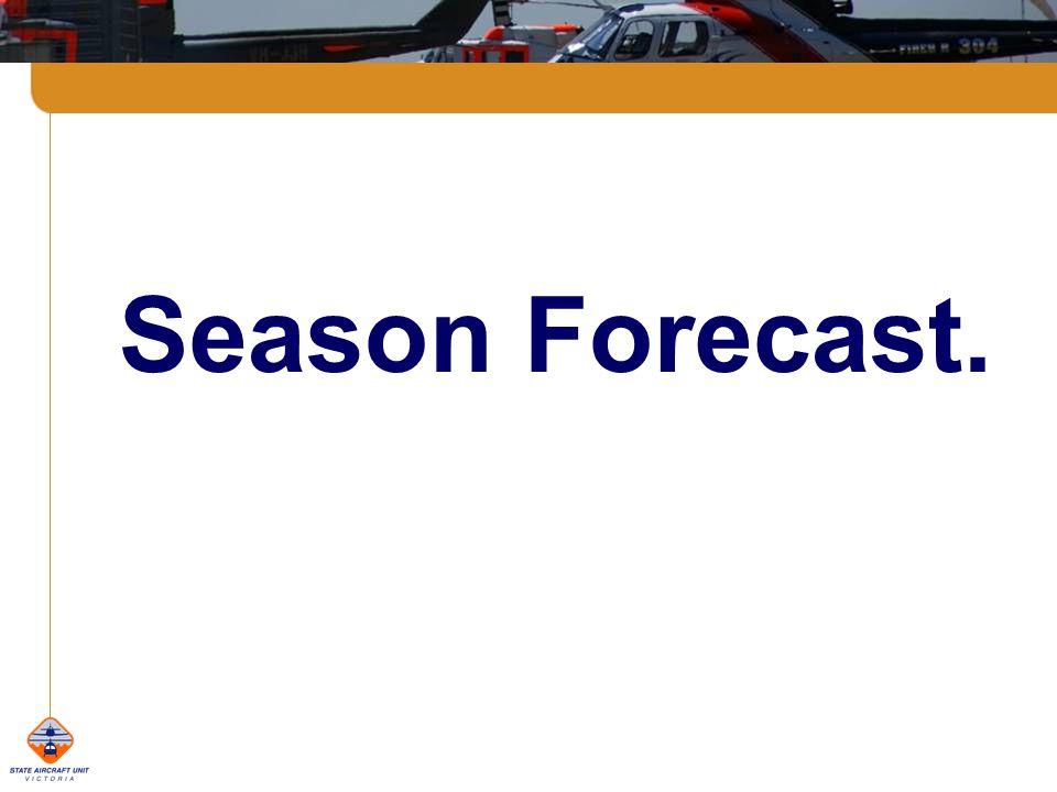 Season Forecast.