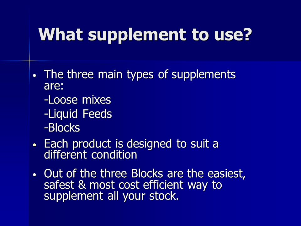 What Protein Mineral Supplements Do.