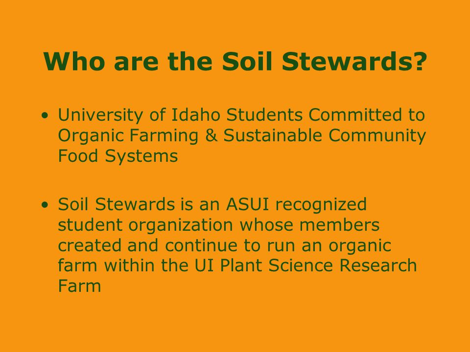 Who are the Soil Stewards.