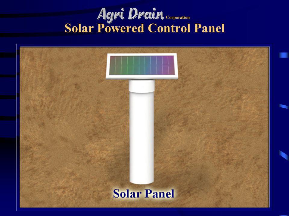 Solar Powered Control Panel