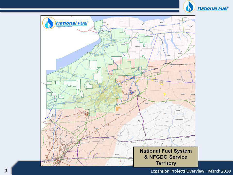 4 Expansion Projects Overview – March 2010 Map [Add SRC acreage] C Lamont Expansion New Compression