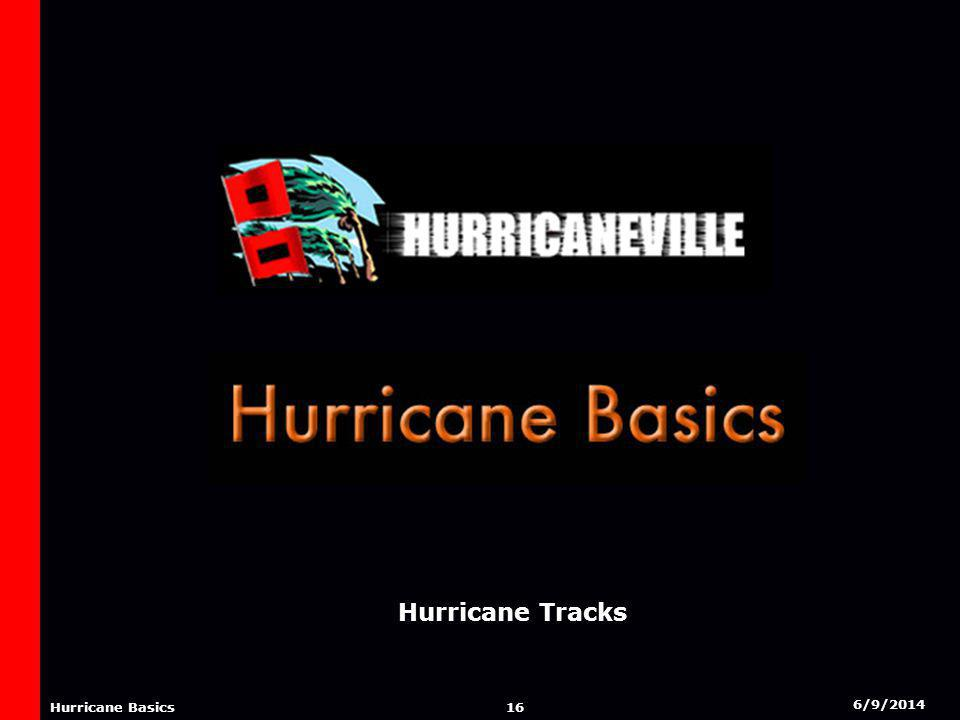 6/9/2014 15 Hurricane Basics ORIGINS OF A HURRICANE Hurricanes form in several regions of the Tropical Atlantic.