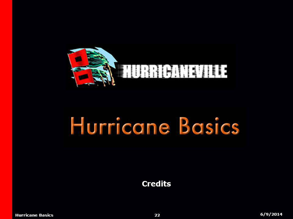 6/9/2014 21 Hurricane Basics NAMING OF HURRICANES Tropical Storms and Hurricanes are often referred to by name throughout the world, particularly in the Atlantic Basin.