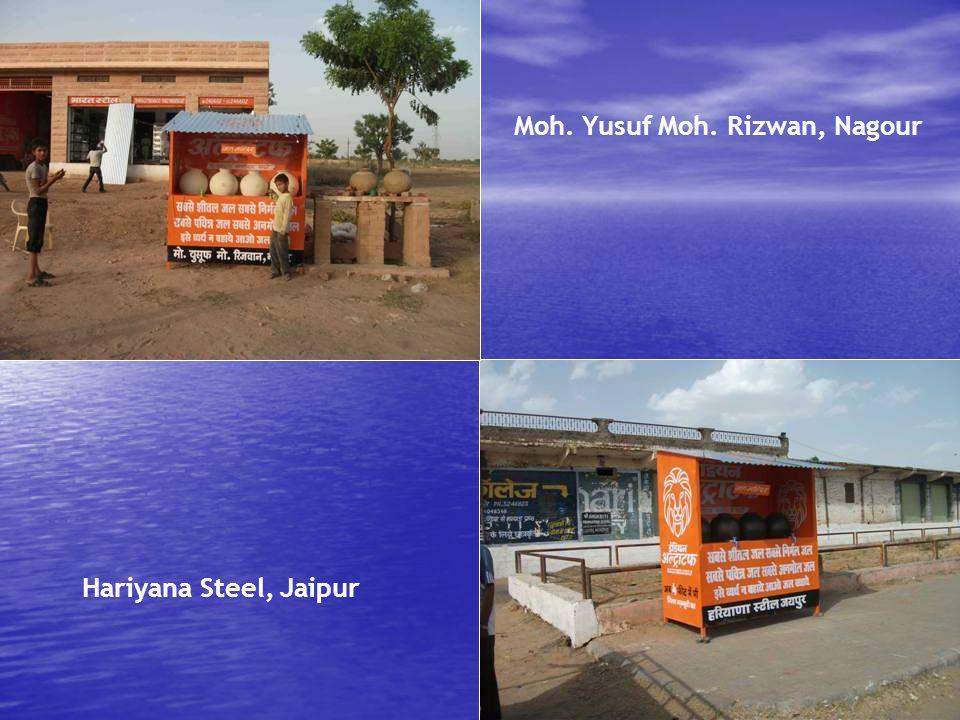 Moh. Yusuf Moh. Rizwan, Nagour Hariyana Steel, Jaipur