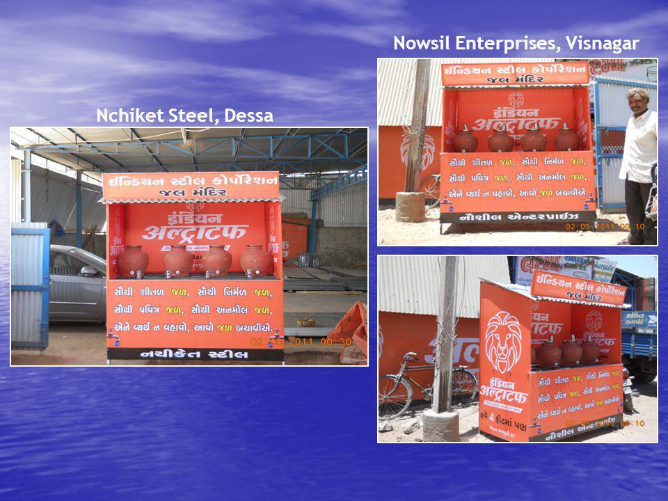 Nchiket Steel, Dessa Nowsil Enterprises, Visnagar