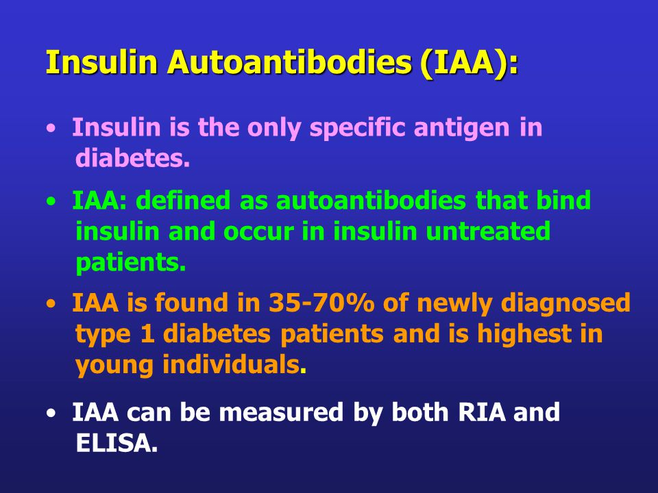 Insulin is the only specific antigen in diabetes.