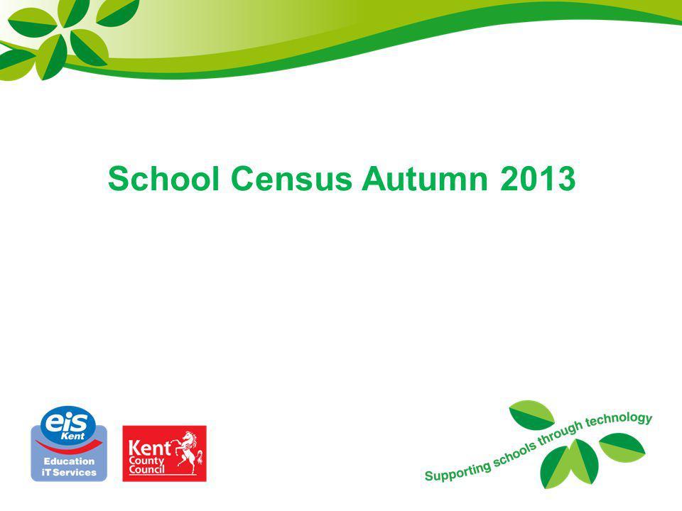 School Census Autumn 2013