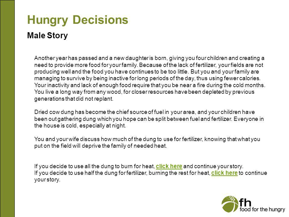 Hungry Decisions Male Story Moving has proven to be a hardship for you.